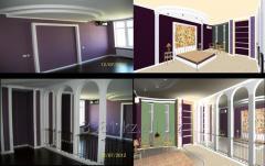 Дизайн интерьера сауны, бани, зоны отдыха, кафе, баров, гостиниц, АЗС, офисов.