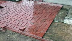 Укладка тротуарной плитки и гранитной брусчатки малых площадей