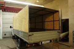 Наращивание бортов кузова грузовых автомобилей