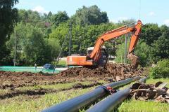Строительство водопроводов и канализации