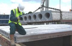 Монтаж железнобетонных несущих конструкций