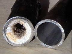 Чистка труб холодного и горячего водоснабжения