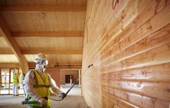 Обработка огнезащитным составом деревянных, металлических конструкций