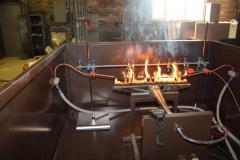 Испытания на огнестойкость кабельной проходки