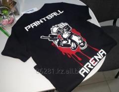Печать фотоизображений и логотипов на футболках, бейсболках, спецодеждах и касках