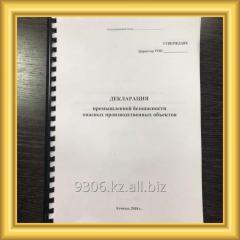 Декларация Безопасности Промышленного Объекта
