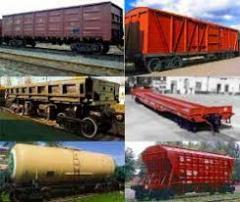 Железнодорожные перевозки по Казахстану,  СНГ, Европе и дальнему зарубежью
