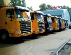 Транзит, доставка, перегон тяжелой грузовой и спец. техники своим ходом из КНР