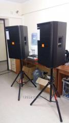 Звук в аренду, колонки, акустическая система