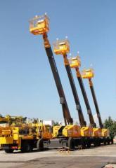 Аренда Телескопического подъёмника самоходного 38 метров