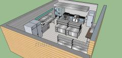 Услуга дизайнера, Кухня, Ресторан, Профессиональная кухня
