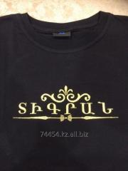 Вышивка на футболках, Вышивка логотипа на футболках