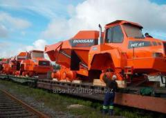 Железнодорожные перевозки габаритных грузов