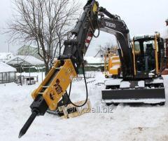 Аренда и услуги гидромолота в Павлодаре и области.