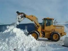Уборка и вывоз снега по договорам