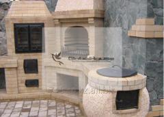 Качественное строительство элитных уличных печей (казан, мангал, барбекю)