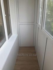 Обшивка балконов и лоджий Караганда