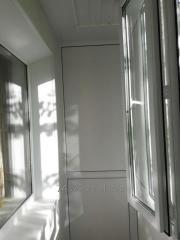 Пластиковый балкон Караганда