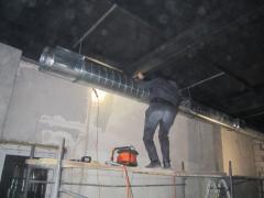Монтаж воздуховодов систем вентиляции