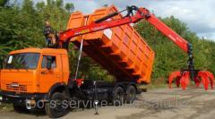 Gidrofikation of tractors, dump trucks and many
