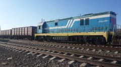 Railroad transportation of goods