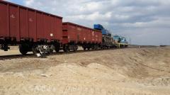 Железнодорожные перевозки, подача и уборка