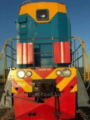 Подача вагонов