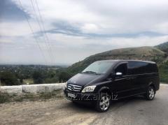 Аренда минивэна с водителем Mercedes Viano VIP 6 пассажирских мест