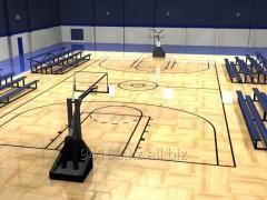 Строительство и монтаж баскетбольных площадок