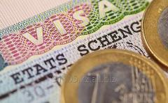 Услуги по оформлению визы в Испанию