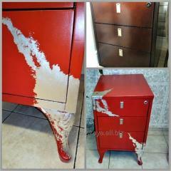 Перекраска и редизайн старой мебели