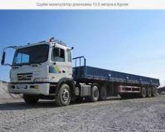 Services of semitrailer