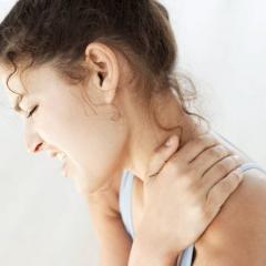 Остеопатия   от боли в шее