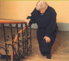 Остеопатия  от боли в колене