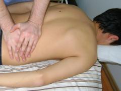 Мануальная терапия  от боли лежа на спине