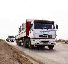 Организация перевозок грузов собственным автотранспортом