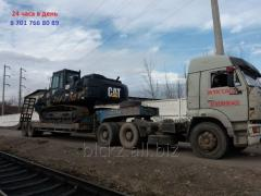 Услуга Трала. Перевозка негабаритных грузов