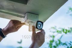 Видеонаблюдение установка с оборудованием