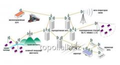 Построение радиорелейных линий связи