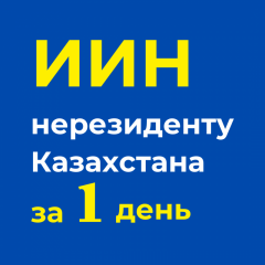 Оформление ИИН для иностранцев без приезда в Казахстан за 1-2 дня