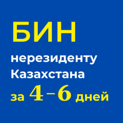 Оформление БИН нерезиденту Казахстана удалённо