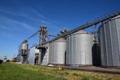 Услуги по хранению и подработки зерна на элеваторе