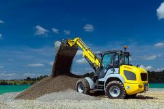 Hire of front wheel loaders