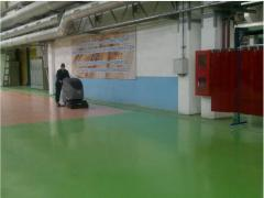We build industrial floors autoparkings, hangars,