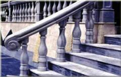 Входные группы, ступени, колонны, балясины