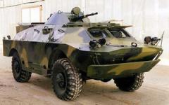 Ремонт разведывательно-десантной машины БРДМ-2