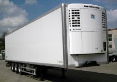 Transportations of perishable freights