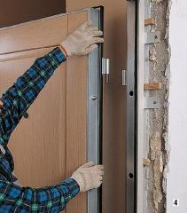 Установка дверных проемов