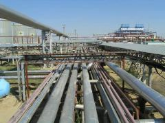 Management of construction of surface facilities of oil and gas fields