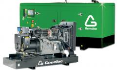 Installation and service of power plants diesel